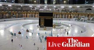 Coronavirus live news: Saudi Arabia closes borders to hajj attendees as global Covid-19 cases pass 9m