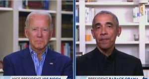 Obama helps Biden set fundraising record as he returns to presidential campaign trail