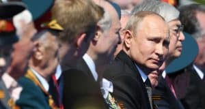 Russia is holding a massive show of military might in Moscow, and it's crucial for Putin
