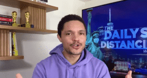 """'The Daily Show With Trevor Noah' Drives Bubba Wallace Admission: """"People Compared Me To Jussie Smollett"""""""
