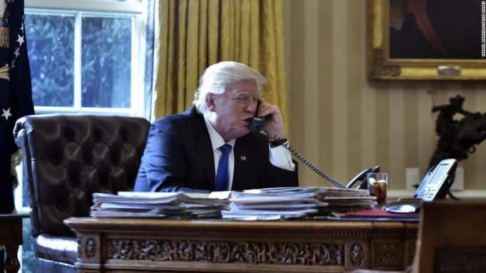 From pandering to Putin to abusing allies and ignoring his own advisers, Trump's phone calls alarm US officials