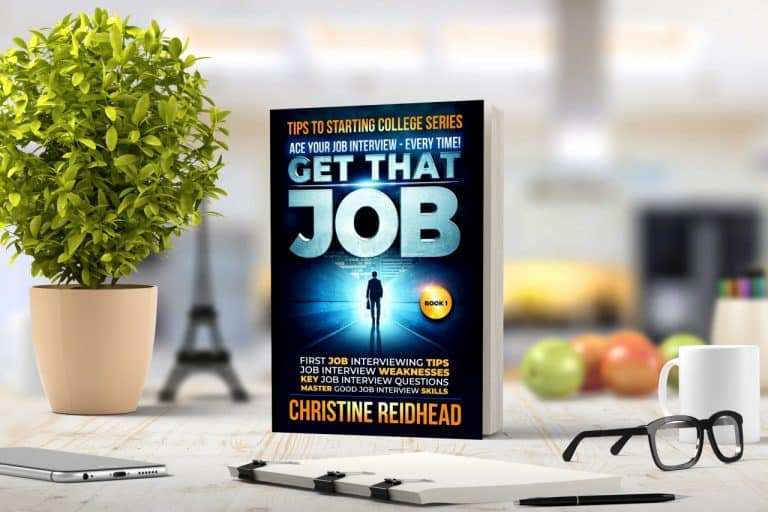 "A CHAT ABOUT CHRISTINE'S NO. 1 BEST SELLER, ""GET THAT JOB!"""